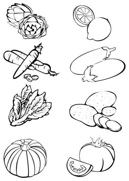 Vegetable garden clipart black and white clip art transparent library vegetable-garden-clipart-black-and-white-123 | Media Center ... clip art transparent library