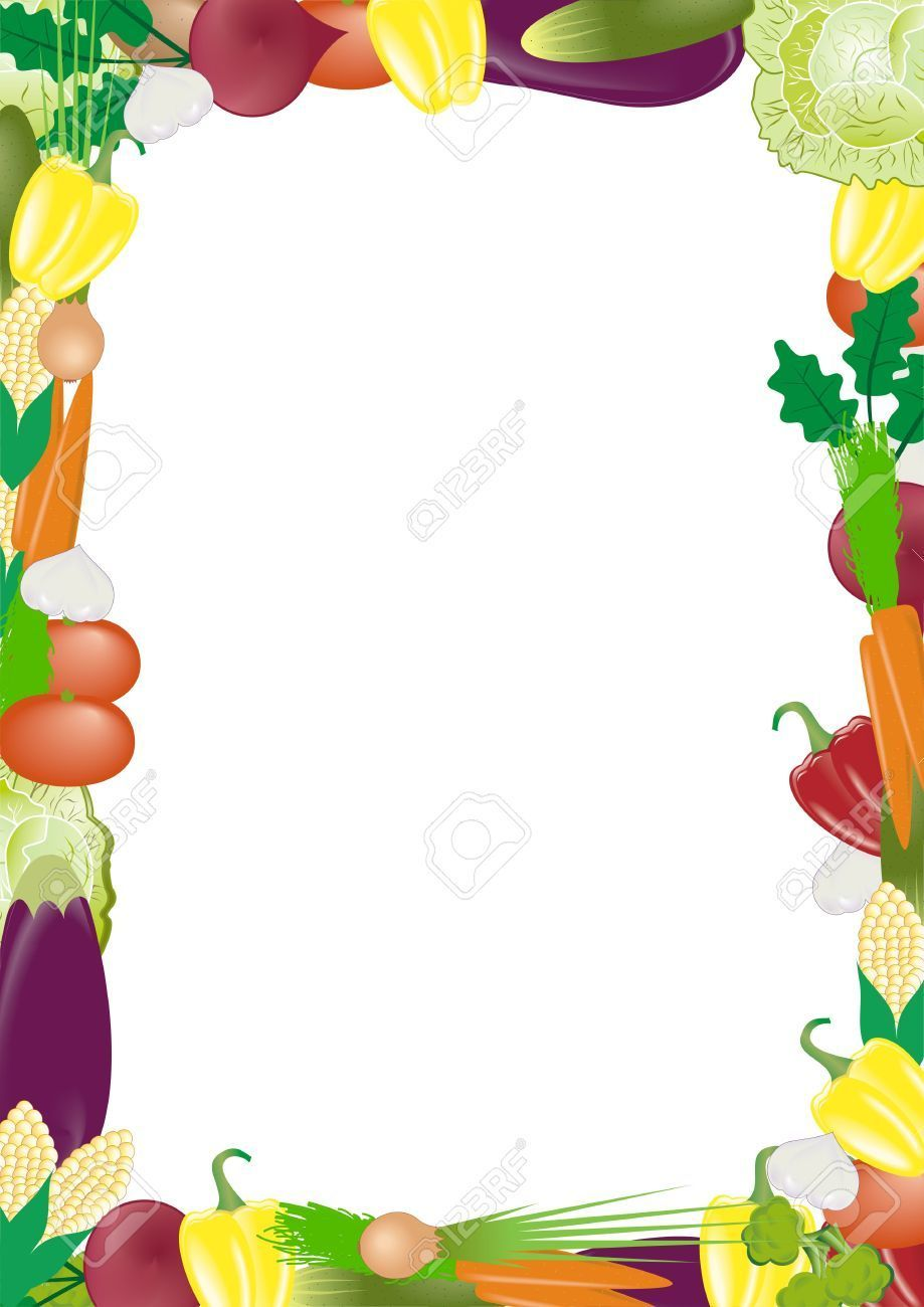 Vegetable garden clipart border image royalty free Vegetable garden border clipart 8 » Clipart Portal image royalty free