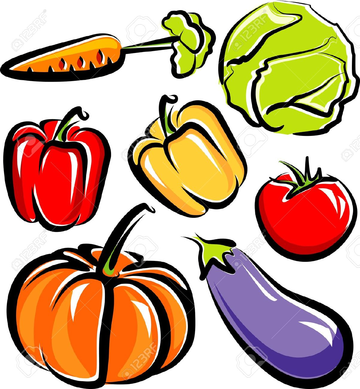 Vegetable plants clipart jpg royalty free library Vegetable Garden Clipart Free | Free download best Vegetable ... jpg royalty free library