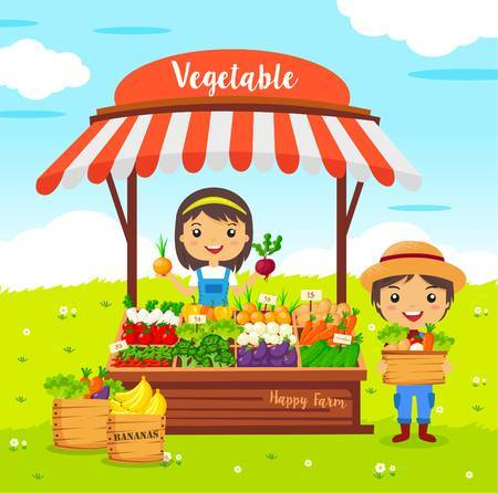 Vegetable stand clipart image freeuse library Vegetable stand clipart 8 » Clipart Portal image freeuse library