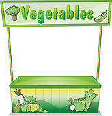 Vegetable stand clipart clipart library Farm Stand Clipart - Clip Art Library clipart library