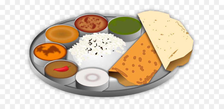 Vegetarian food images clipart picture freeuse library Indian Food png download - 735*434 - Free Transparent Indian ... picture freeuse library