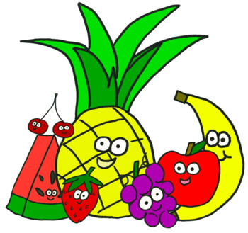 Vegggies clipart clipart freeuse Fruits and Veggies ClipArt clipart freeuse