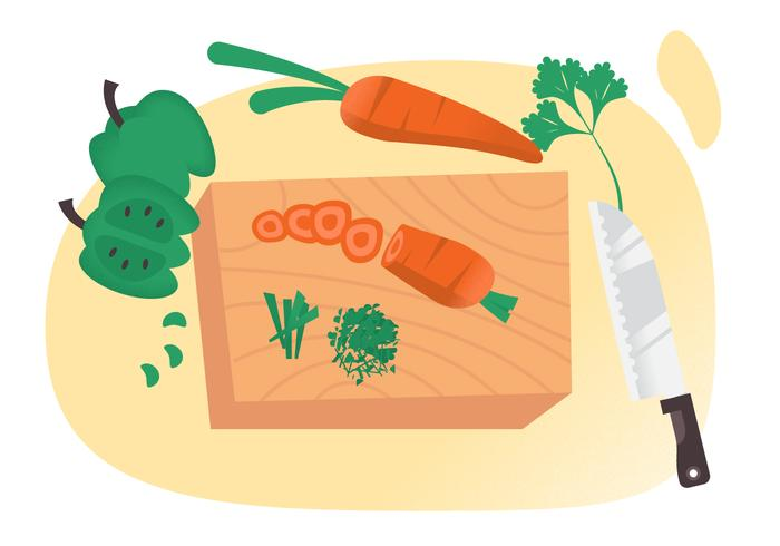 Veggies and knife clipart png royalty free library Vector Cutting Vegetables - Download Free Vectors, Clipart ... png royalty free library