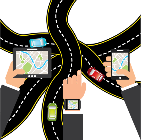 Vehicle tracking clipart graphic Automotive - Vehicle Tracking Systems graphic