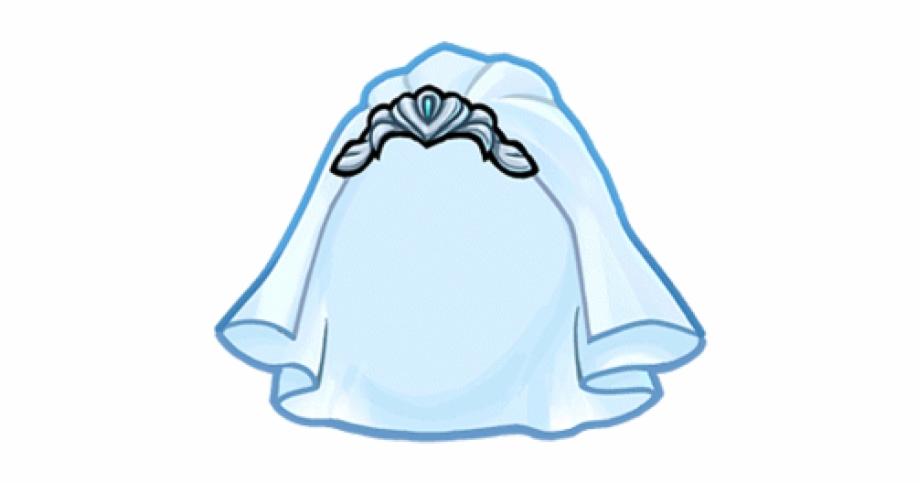 Wedding veil clipart