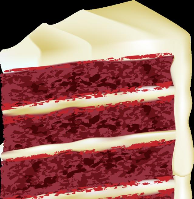 Velvet clipart image transparent library Download Free png pin Cake clipart red velvet c - DLPNG.com image transparent library
