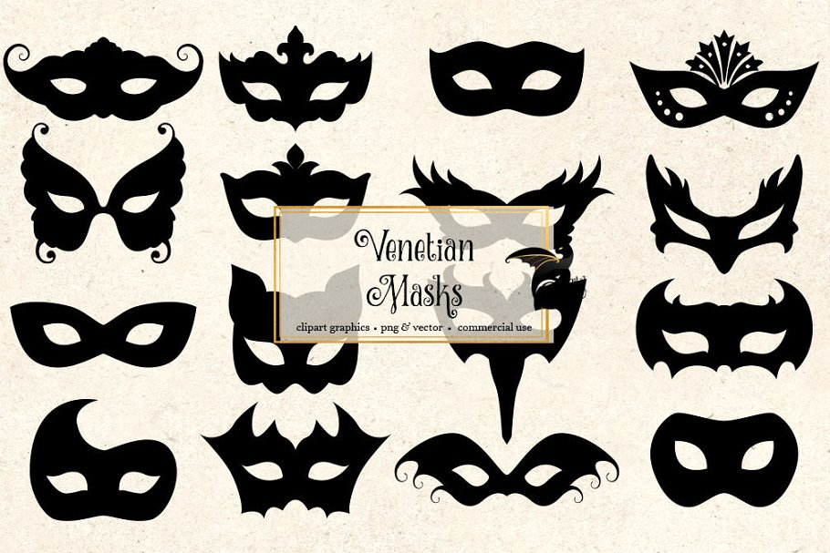 Venetian mask clipart clipart royalty free download Venetian Mask Silhouette Clipart clipart royalty free download