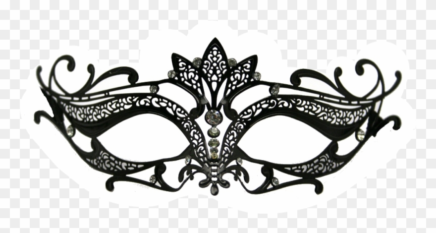 Venetian mask clipart vector free stock Lace Cat Masquerade Mask Template Clipart (#272924) - PinClipart vector free stock