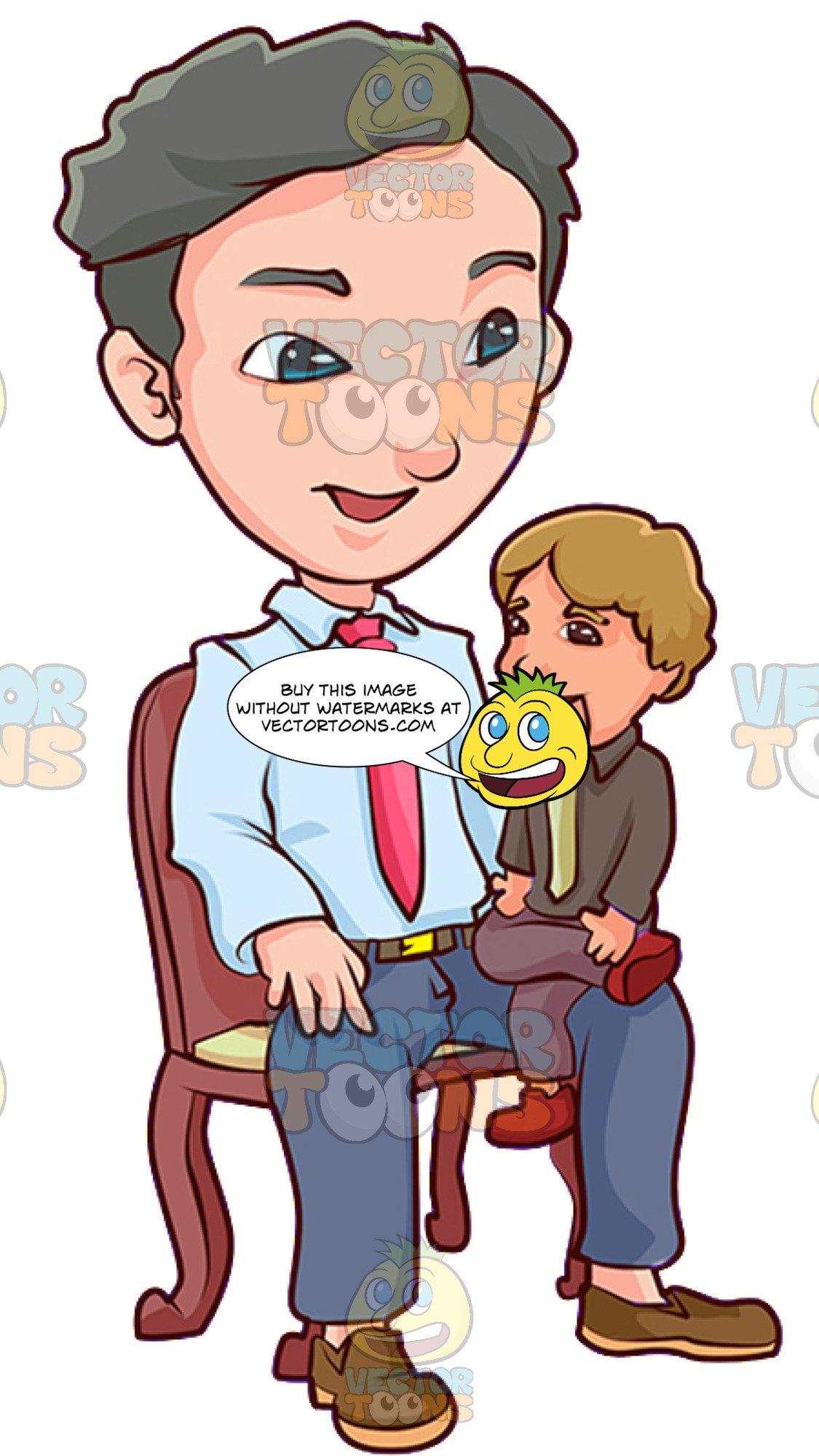 Ventriliquist clipart picture freeuse stock A Happy Male Ventriloquist picture freeuse stock