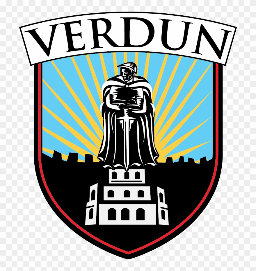 Verdun clipart banner black and white download Verdun Logo - Verdun Clipart - Clipart Png Download (#707167 ... banner black and white download