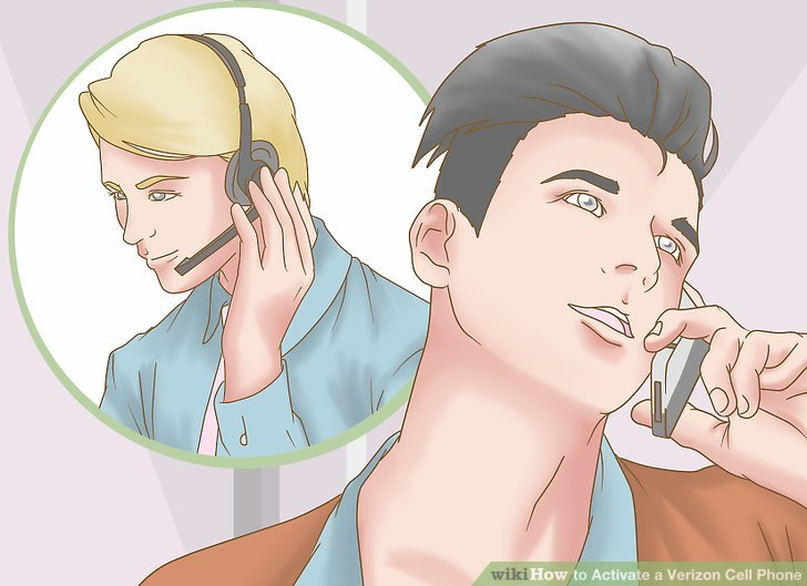Verizon customer service woman clipart banner library download 5 Easy Ways to Activate a Verizon Cell Phone - wikiHow banner library download
