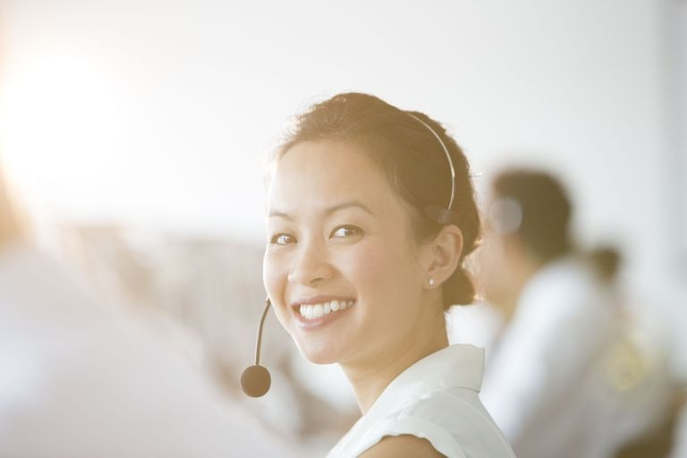 Verizon customer service woman clipart banner Why Customer Service Is Crucial for Your Small Business banner