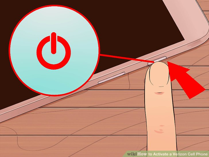 Verizon customer service woman clipart png library download 5 Easy Ways to Activate a Verizon Cell Phone - wikiHow png library download