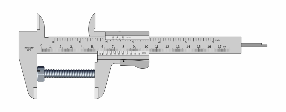 Vernier calipers clipart clip art black and white library Vernier Caliper Png - Vernier Caliper Uncertainty Free PNG ... clip art black and white library