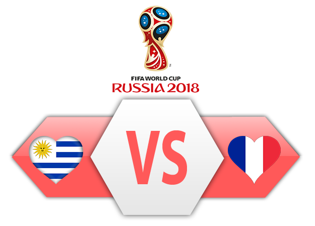 Versus clipart png file clip art black and white stock FIFA World Cup 2018 Quarter-Finals Uruguay VS France PNG ... clip art black and white stock