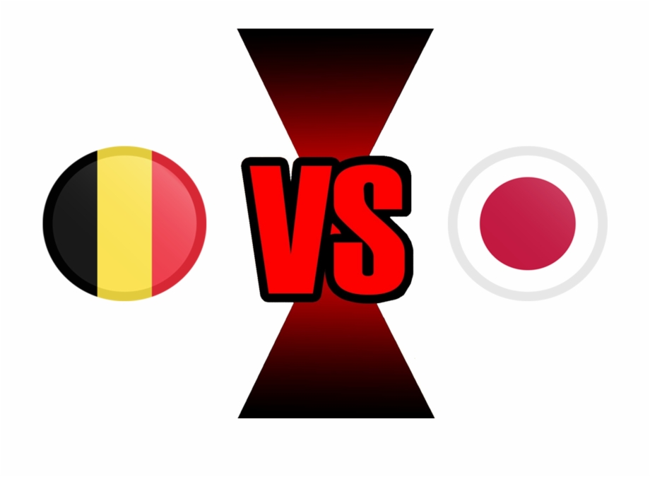 Versus clipart png file image black and white stock Fifa World Cup 2018 Belgium Vs Japan Png File - Uruguay Vs ... image black and white stock