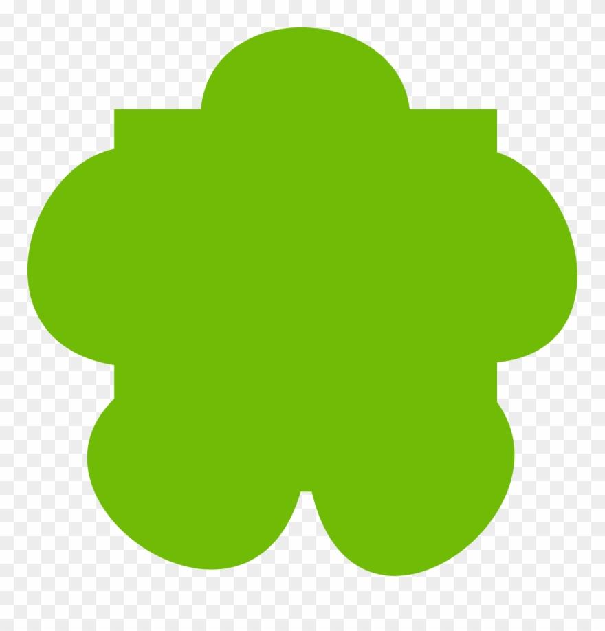 Verte clipart clip download Nom Fleur Verte Clipart (#3738534) - PinClipart clip download