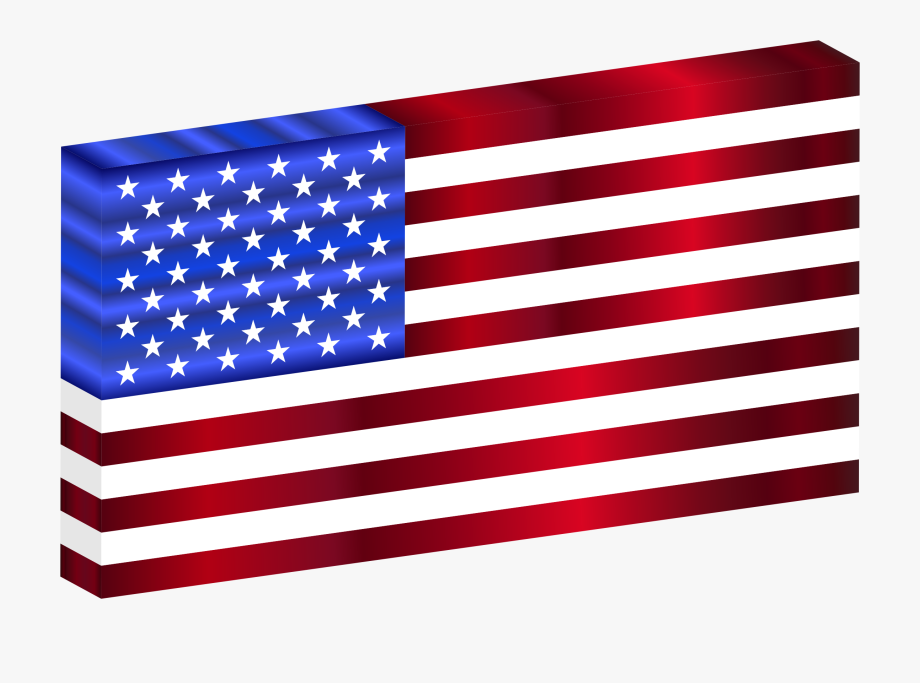 Small american flag clipart free clip royalty free download Picture Transparent Library Usa Flag Clipart - Black And ... clip royalty free download