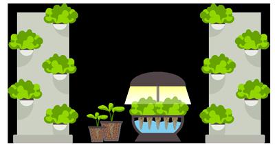 Vertical garden clipart clipart black and white download Vertical Garden Quarterly Seed Subscription – GrowJourney ... clipart black and white download