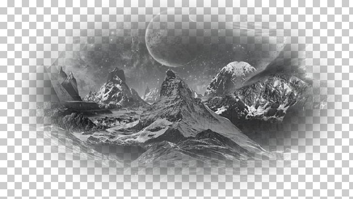 Verticle nature grayscale clipart jpg black and white stock Black and white Desktop Photography Grayscale, Mountain ... jpg black and white stock