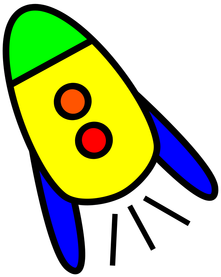 Very clipart graphic freeuse library Very Simple Rocket Clipart   Clipart Panda - Free Clipart Images graphic freeuse library