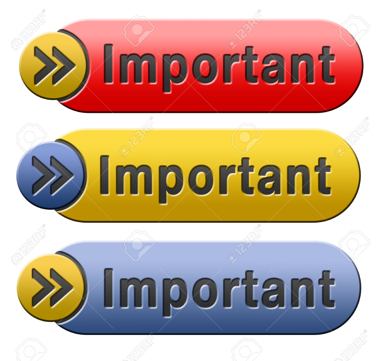 Very important message clipart jpg free stock Important Information Very Crucial Message Essential And Critical ... jpg free stock