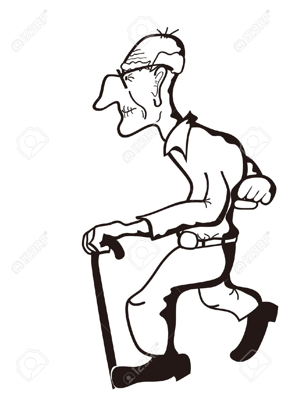 Very old man clipart png Free Old Man Clipart, Download Free Clip Art, Free Clip Art ... png