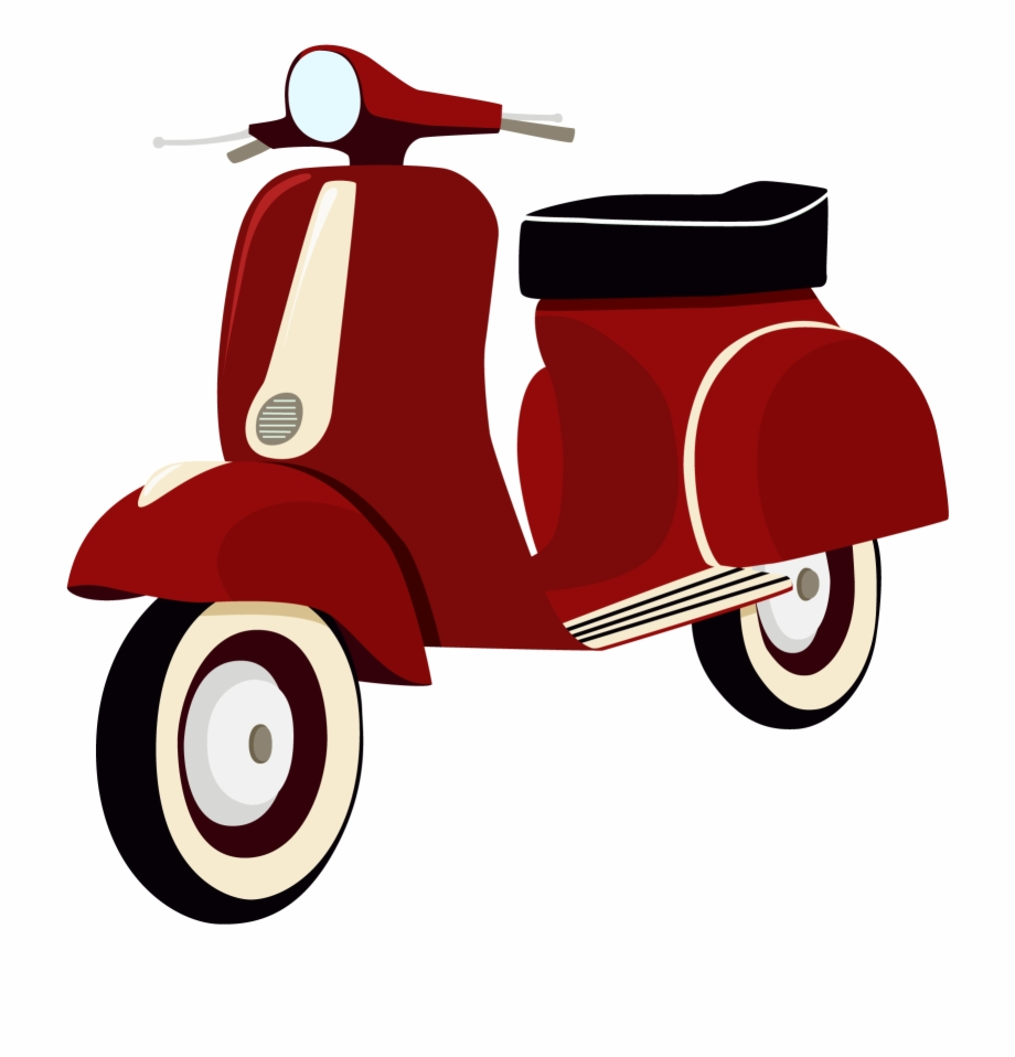 Vespa clipart free png free Helmet Vespa Battery Car Scooter Vector Motorcycle - Vespa ... png free