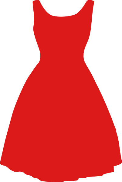 Vestidos clipart svg freeuse download Vestido Rojo Clipart PNG transparente - StickPNG svg freeuse download