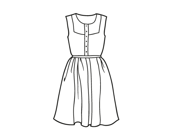 Vestidos clipart library Croquis de vestidos clipart images gallery for free download ... library