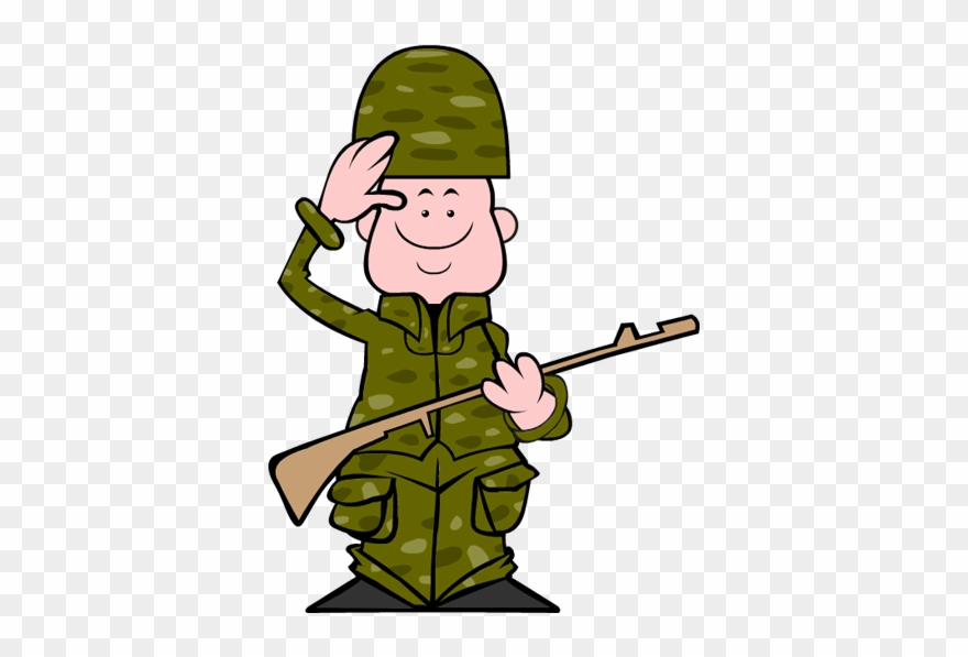 Veteran cartoon clipart picture black and white stock Clip Art Veterans Day Soldier - Soldier Clipart Png ... picture black and white stock