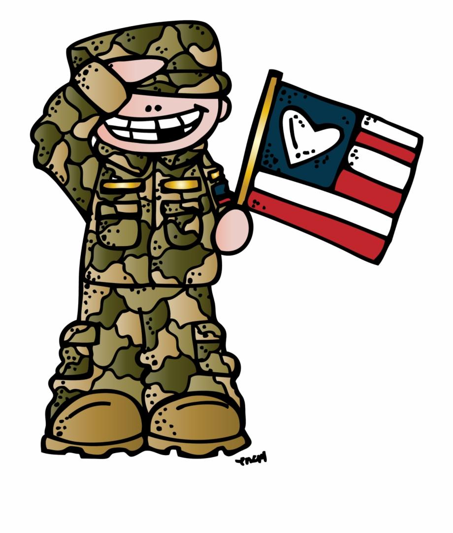 Veteran cartoon clipart banner Melonheadz Illustrating Always In My Heart Veterans ... banner