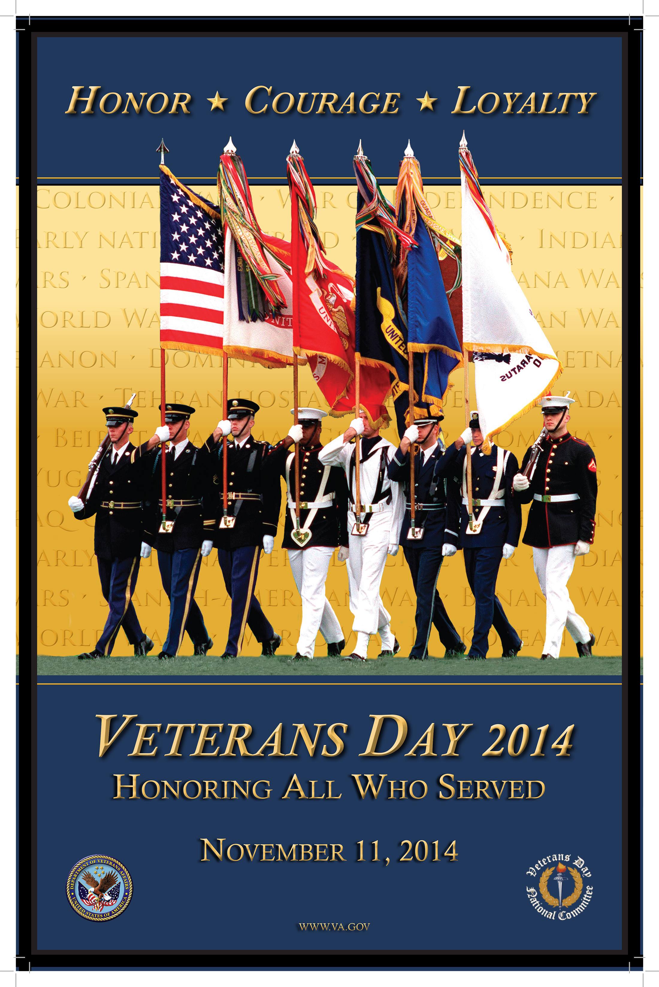 Veterans day 2014 clipart image library Veterans Day Poster Gallery - Office of Public and ... image library