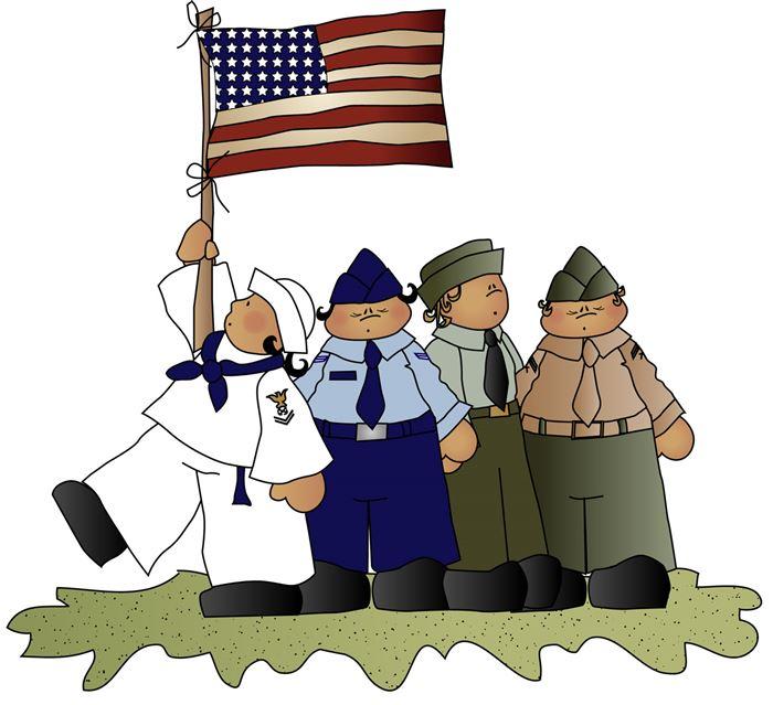 Veterans dinner clipart