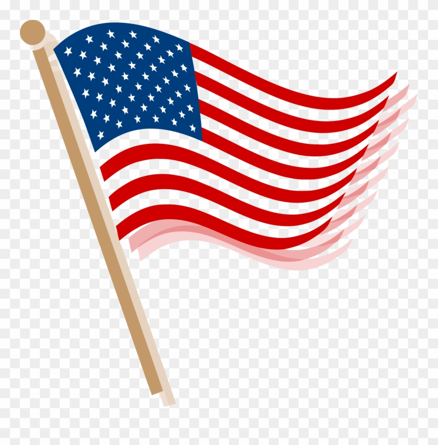 Veterans flag clipart vector transparent download Usa Flag Clip Art Png Picture Library Library - Veterans Day ... vector transparent download