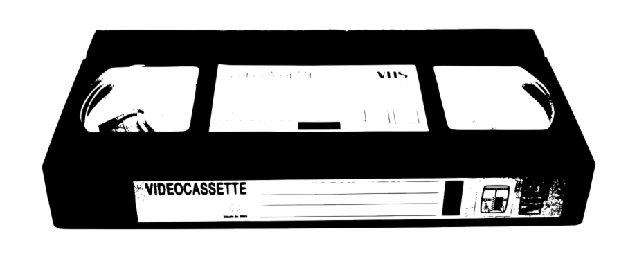Vhs tapes clipart clip art black and white stock Video Cassette Tape Png Image - Vhs Tape Clipart Free PNG ... clip art black and white stock