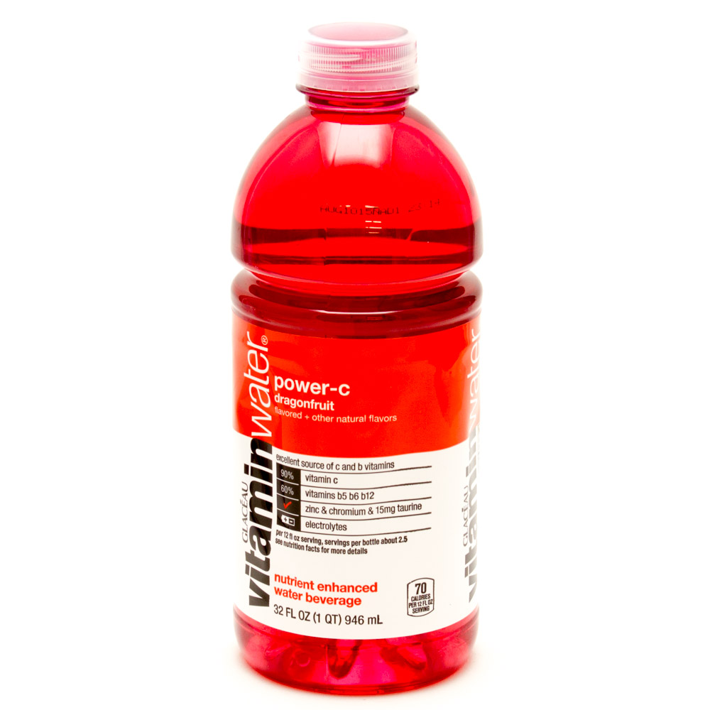 Viataim water clipart png transparent library Vitamin Water Power-C Dragonfruit 32fl oz png transparent library