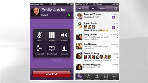 Viber app banner free library App of the Week: Viber - ABC News banner free library