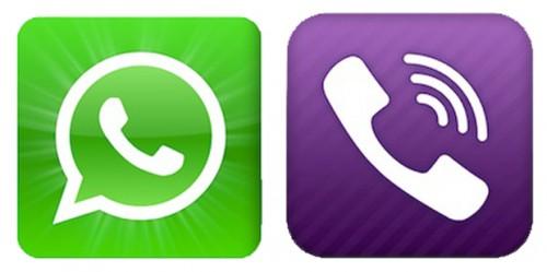 Viber app clip black and white stock WhatsApp Vs Viber - The Best Phone Messaging App? clip black and white stock