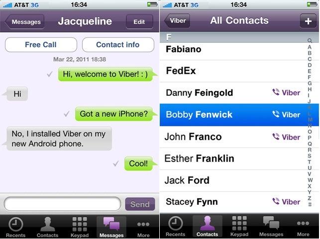 Viber app image library New Travel App: Viber | Advance Travel image library
