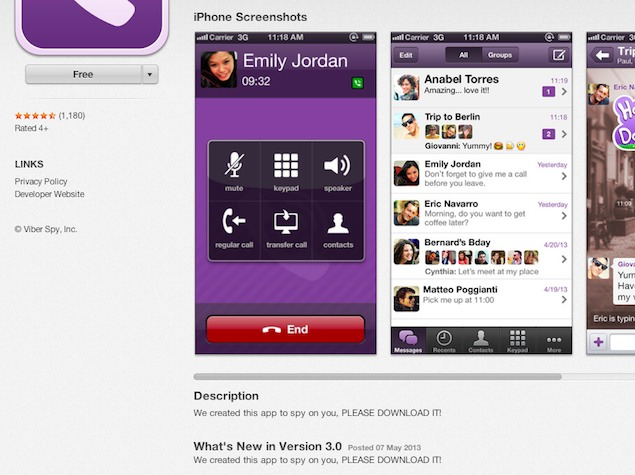 Viber app png royalty free Hackers compromise messaging app Viber's App Store listing | NDTV ... png royalty free