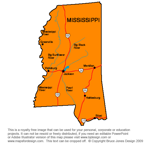 Vicksburg clipart picture royalty free stock Clipart map of mississippi - Clip Art Library picture royalty free stock