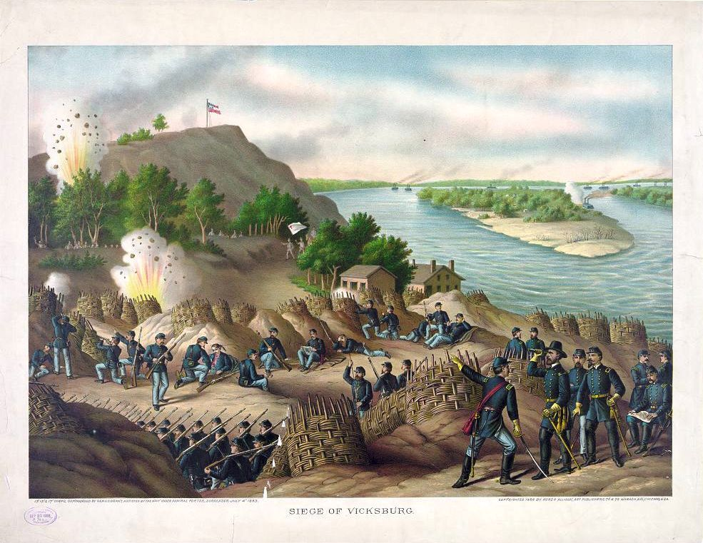 Vicksburg clipart picture freeuse May 22, 1863: Grant\'s Second Assault at Vicksburg ... picture freeuse
