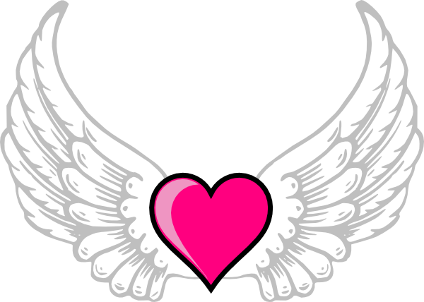 Victoria secret wings clipart jpg freeuse Free Heart With Wings Clipart, Download Free Clip Art, Free ... jpg freeuse