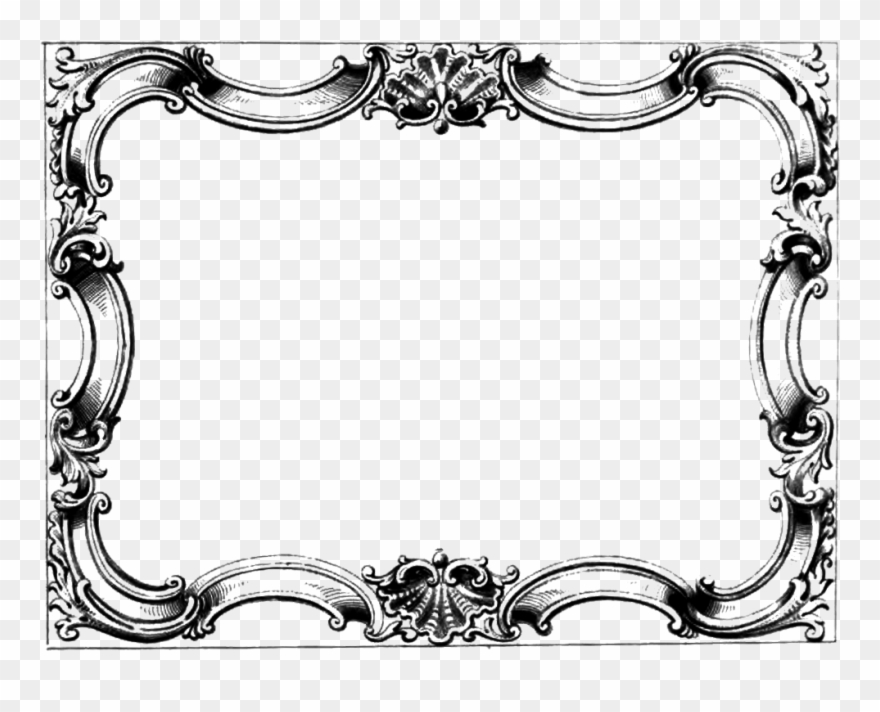 Victorian decorative designs clipart png royalty free Free Clip Art Frame Clipart - Victorian Borders And Frames ... png royalty free