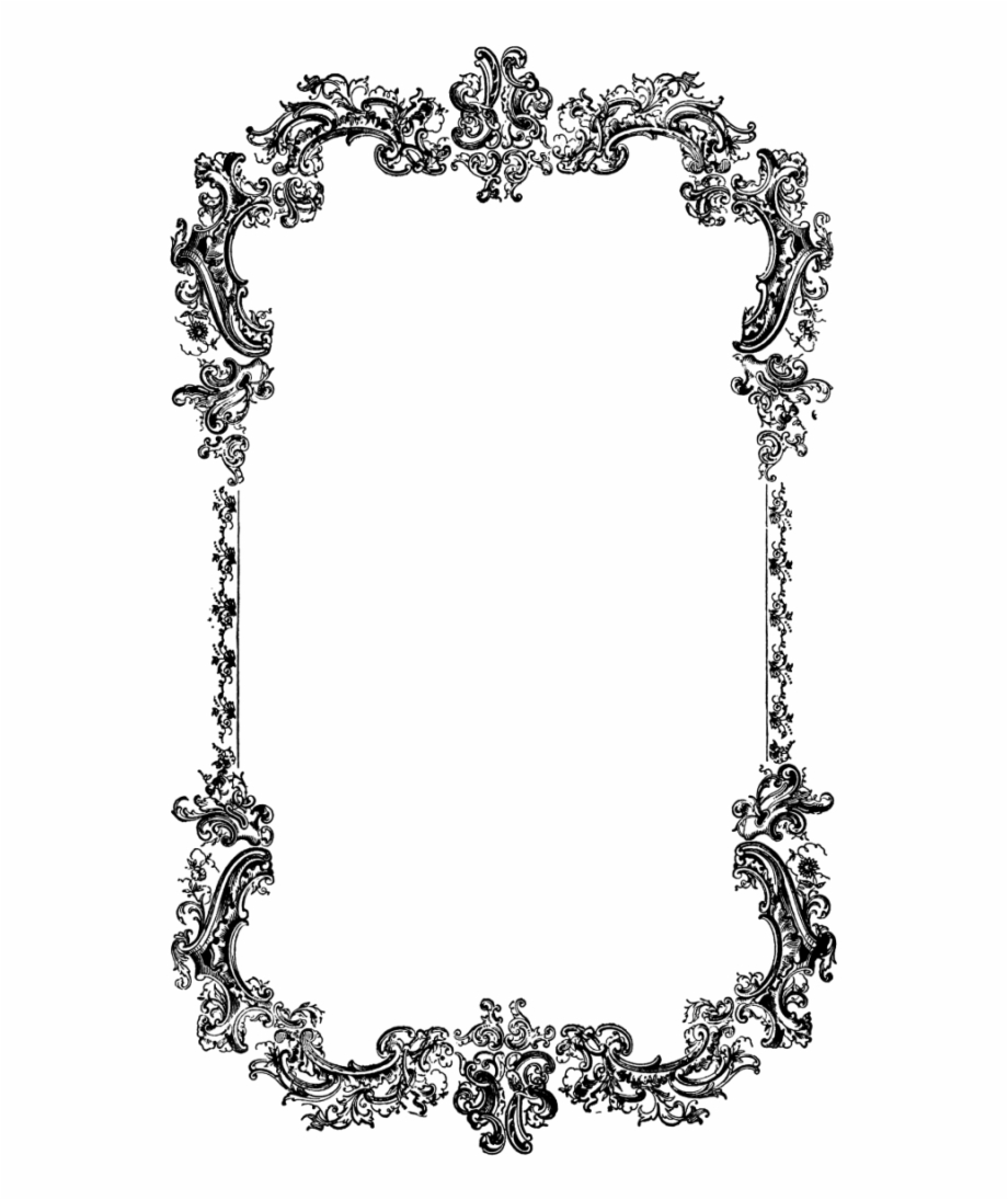 Victorian borders clipart png royalty free Victorian Borders And Frames Png Vector Clipart Psd - Border ... png royalty free