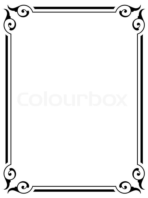 Victorian borders clipart free library simple victorian border - Google Search | BATH | Border ... free library