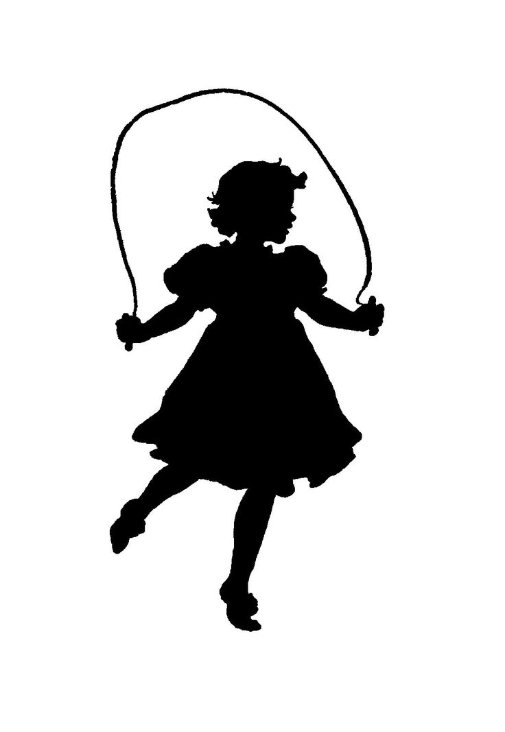 Victorian children playing silhouette clipart free freeuse download Free Victorian Children Pictures, Download Free Clip Art ... freeuse download