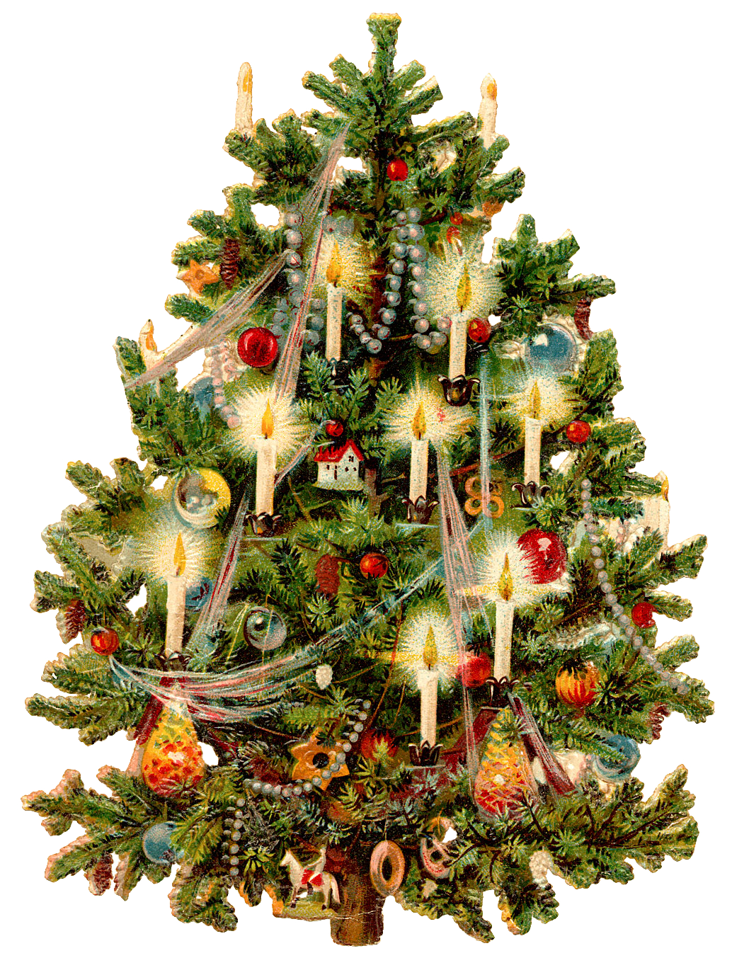 Victorian christmas background clipart clipart royalty free download Victorian Christmas Tree | XMAS clip art | Victorian ... clipart royalty free download